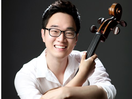 Cellist  Sung Chan Chang will perform this Friday in