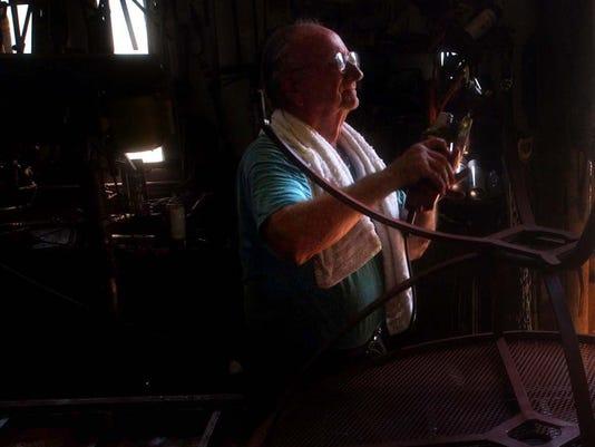 Albert Kelly Kelly's Ironworks September 2003