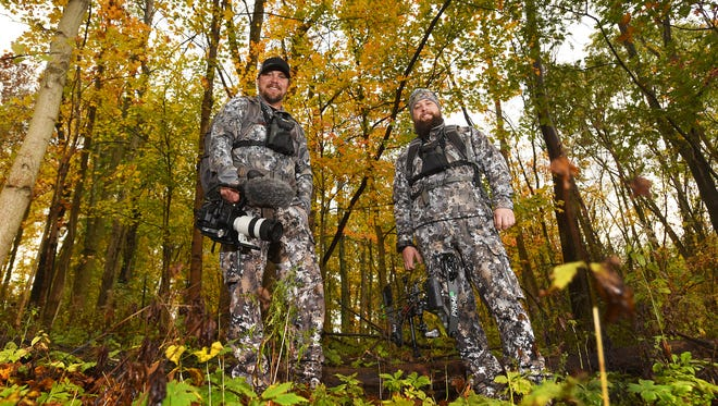 Tom Petry and Nick Ventura, right, are co-owners of Film the Hunt. Film the Hunt offers online courses on how to film outdoor programs, as well as a four day immersive on location course. In addition, they produce the Become 1 television series.