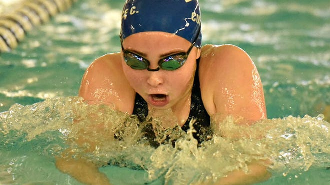Wayne Valley junior Claire Custance is one of the top swimmers in North Jersey.