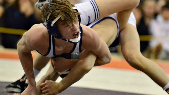Paramus' Kyle Kaiser is one of North Jersey's top wrestlers at 113 pounds.