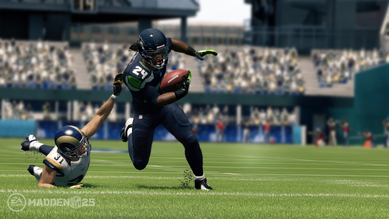 review running game shines in madden nfl 25 rh usatoday com Madden 25 Xbox 360 Madden 25 Xbox 360