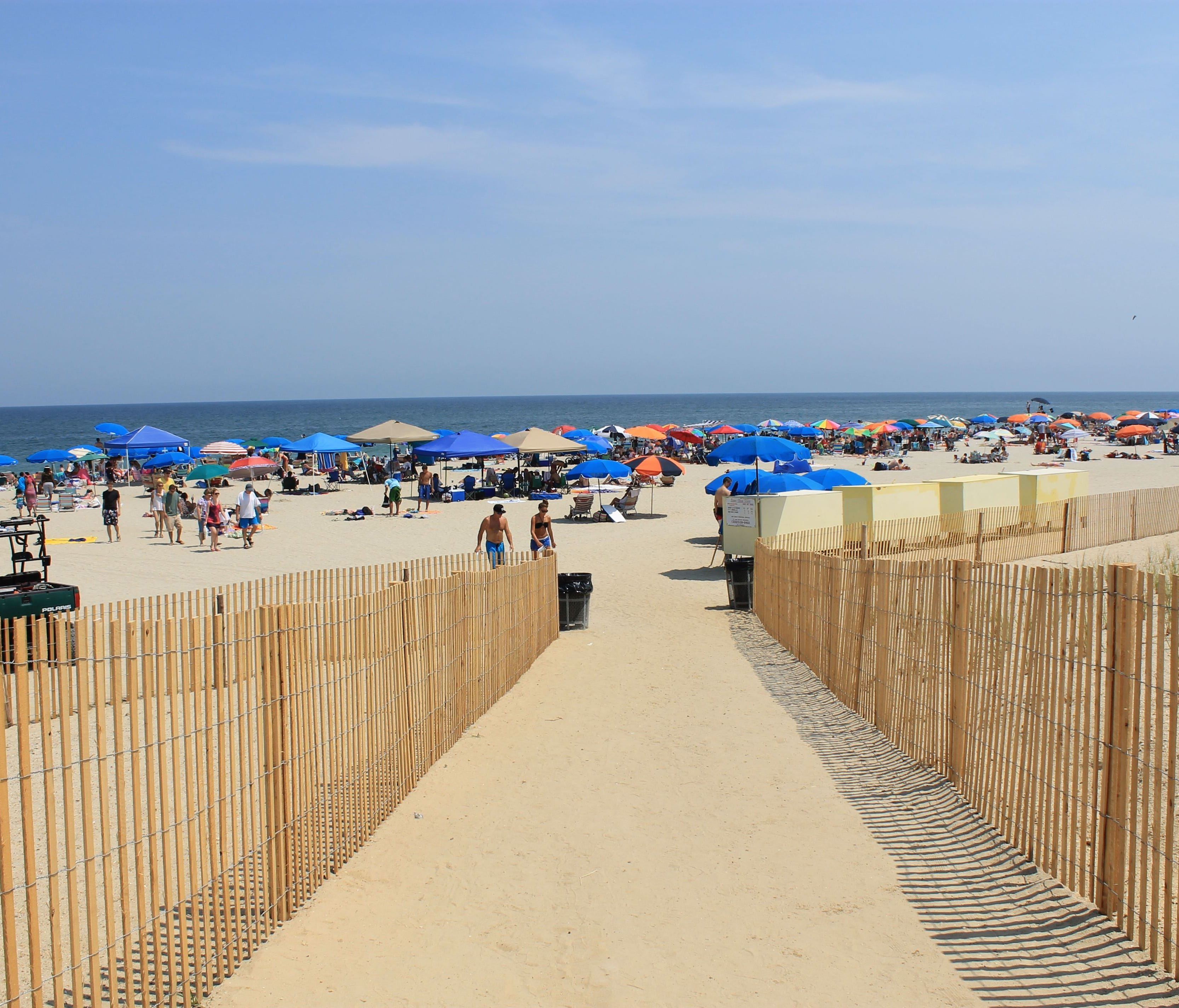 Bethany Beach's 1-mile-long sandy beach primarily attracts families spending a few days, a week or longer in this quiet seaside town.