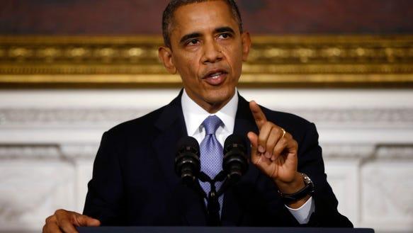 AP Obama Shrinking Agenda