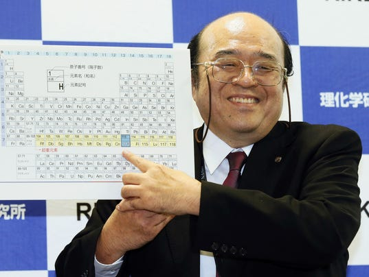 AP JAPAN ELEMENT 113 I JPN