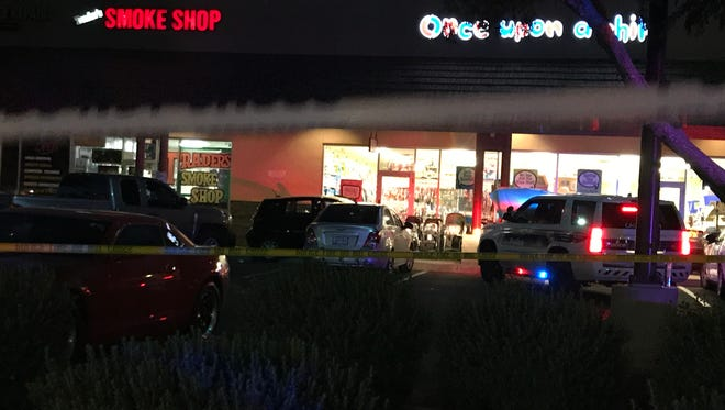 Police were at the scene of a shooting involving a Phoenix officer that took place in Avondale on Wednesday evening.