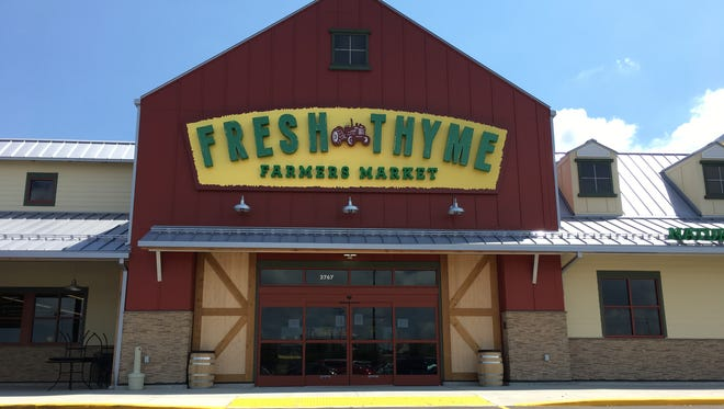 Fresh Thyme Farmers Market will open its first Green Bay area store at 2767 S. Oneida St. on July 19.