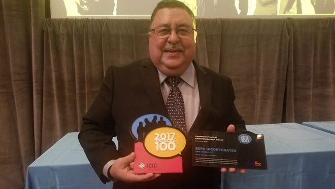 Oscar Casillas is CEO/president of BEPC Inc., which was recently ranked 35th on the Inner City 100 list.