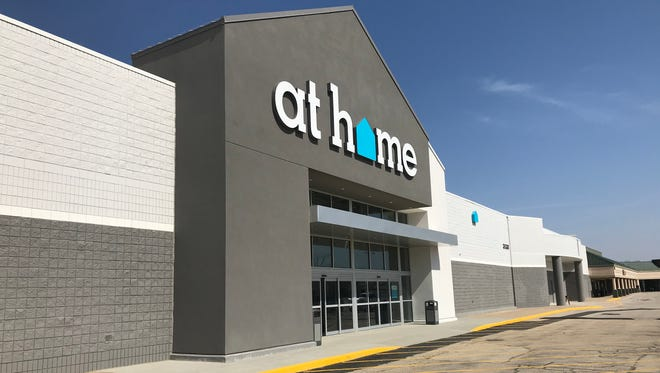 At Home opened a location in Lafayette on Wednesday, taking over a site once home to a Kmart at 3530 Indiana 38.