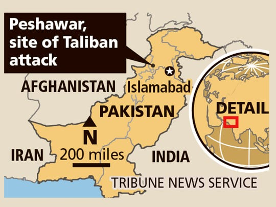 The death toll has risen in an attack by Taliban militants.