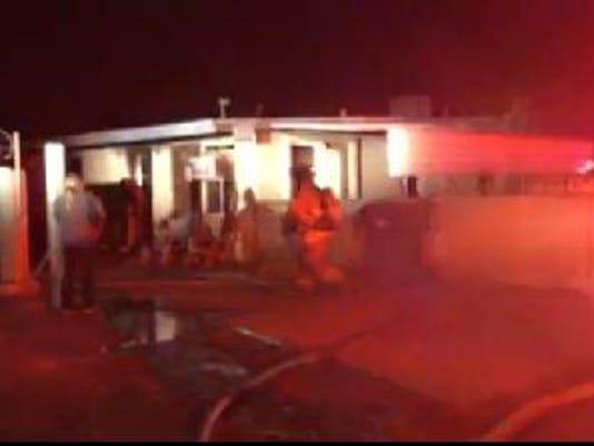 Fire in north Phoenix