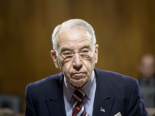 Senate Judiciary Committee Chairman Chuck Grassley,