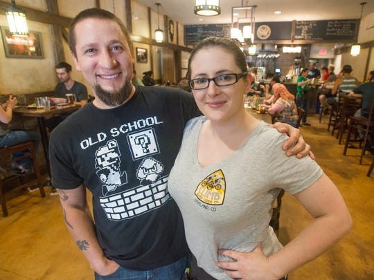 Manny and Melissa Garza opened Dungeons and Drafts, located at 1624 S. Lemay Ave., in 2015.