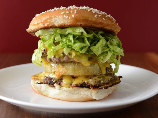 Chef Edward Lee's version of a 'Big Mac' that diners can expect at his Whiskey Dry restaurant.