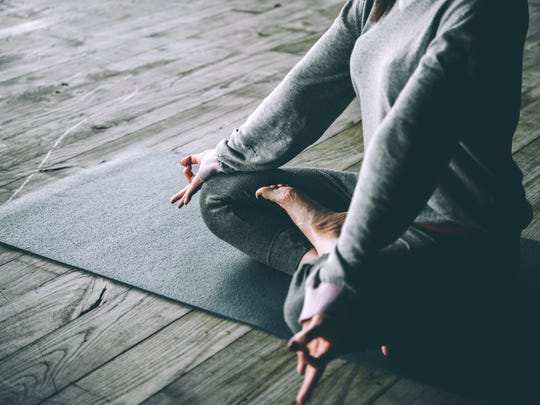 Yoga is not only relaxing, but also tones muscles and improves flexibility.