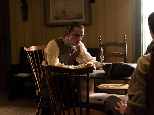Jamie Bell as Abe Woodhull.