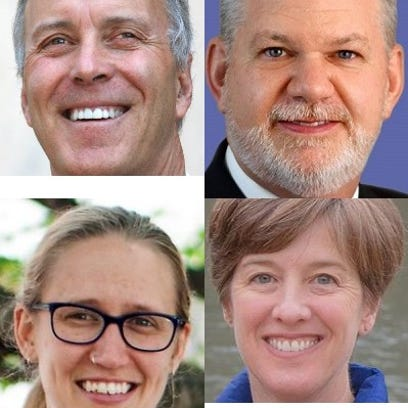 Four Asheville candidates file to run