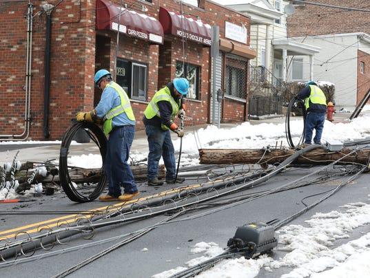 LEAD Lockwood avenue storm damage