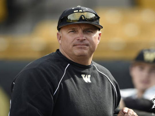 Western Michigan baseball coach Billy Gernon is a big