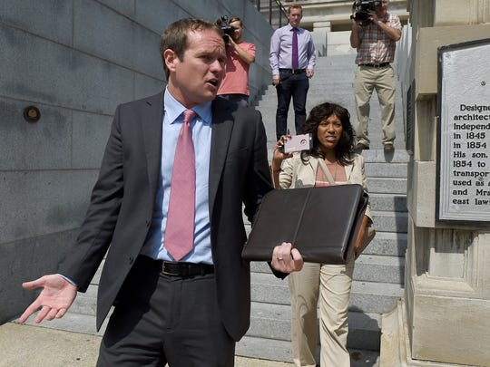 Former Rep. Jeremy Durham, who was expelled from the Tennessee General Assembly, was also issued a record fine after a state watchdog determined he committed hundreds of campaign finance law violations. He still has not paid more than $475,000 in penalties.