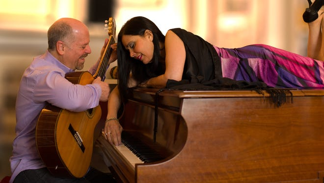 Compositions by the Brazilian jazz duo Minas - Orlando Haddad and Patricia King - have been compared to classics by Cole Porter and Antonio Carlos Jobim.