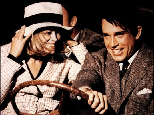Bonnie and Clyde art
