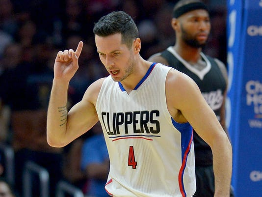 official photos 78533 38ebc J.J. Redick on Clippers rivalry with Warriors, and his new ...
