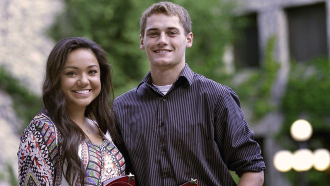 Post-Crescent Media's Prep Athletes of the Year were Peyton Ufi of Xavier and Collin Hofacker of Freedom.