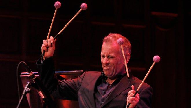 Joe Locke performs at Kilbourn Hall on the fourth night of the Xerox Rochester International Jazz Fest on June 22, 2015.