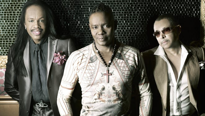 Earth, Wind & Fire is playing JQH Arena Oct. 16. Tickets go on sale Friday at 10 a.m.