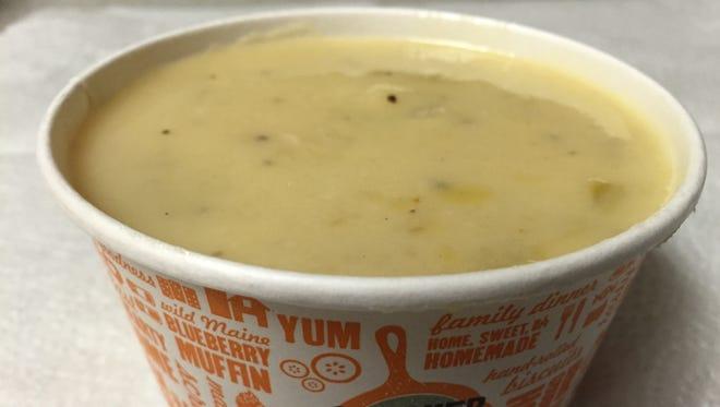Potato soup from Cracker Barrel Restaurant in Mount Arlington.