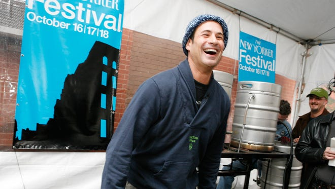 Founder and president of Dogfish Head Craft Brewery Sam Calagione attends the 2009 New Yorker Festival.
