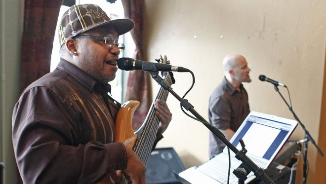 Wrap up your weekend with music and food for a good cause at Open Mic/Jam Night/Pasta for Pounds Sunday, April 17, at Duffy's Hangar. John Pounds is a renowned Northwest bass player who suffered a stroke in mid-March.