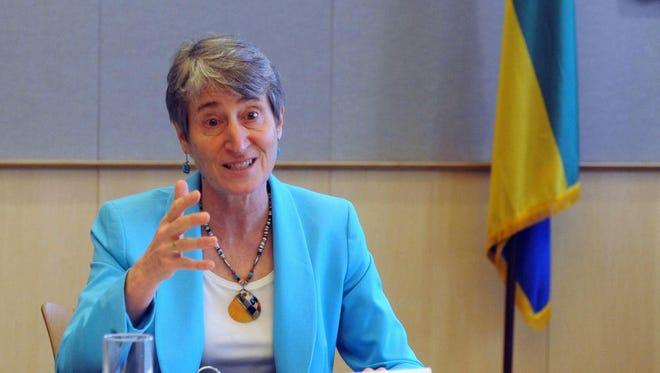 Interior Secretary Sally Jewell is planning a trip to Montana next week.