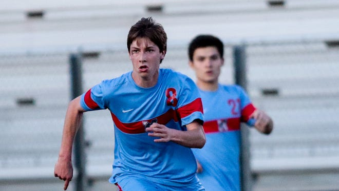 Quinn McNeill from J.L. Mann is one of four incoming recruits for Clemson's men's soccer team.