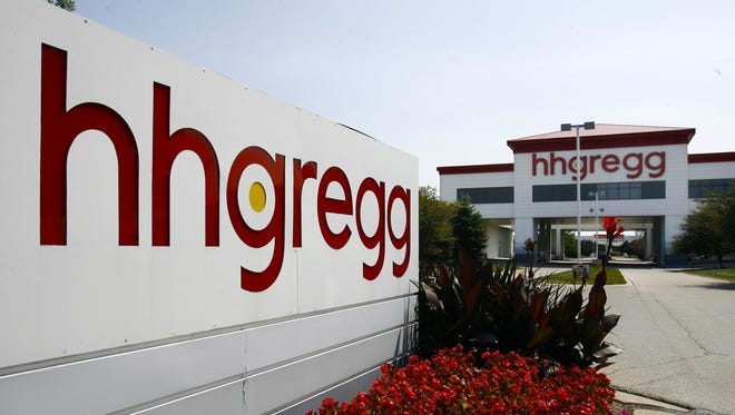 This HHGregg electronics and appliance store in Indianapolis is about a miles from the company's corporate offices near Interstate 465 north of downtown.