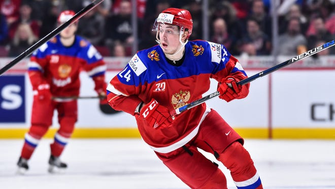 Mikhail Vorobyov will likely start his North America pro career with the Lehigh Valley Phantoms next season.