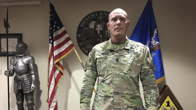 Command Sgt. Maj. Howard A. Wright III has been the senior enlisted leader for 2nd Battalion, 501st Aviation Regiment for the past 15 months. He plans to retire and will relinquish his position on June 22.