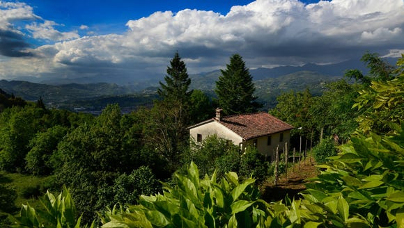 View of Tuscany.