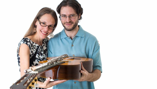 The Folias Duo (Carmen Maret and Andrew Bergeron) perform Aug. 13 and 14 in Milwaukee.