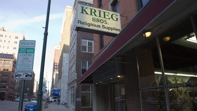 The exterior of Krieg Brothers on Dec. 1, 2011.