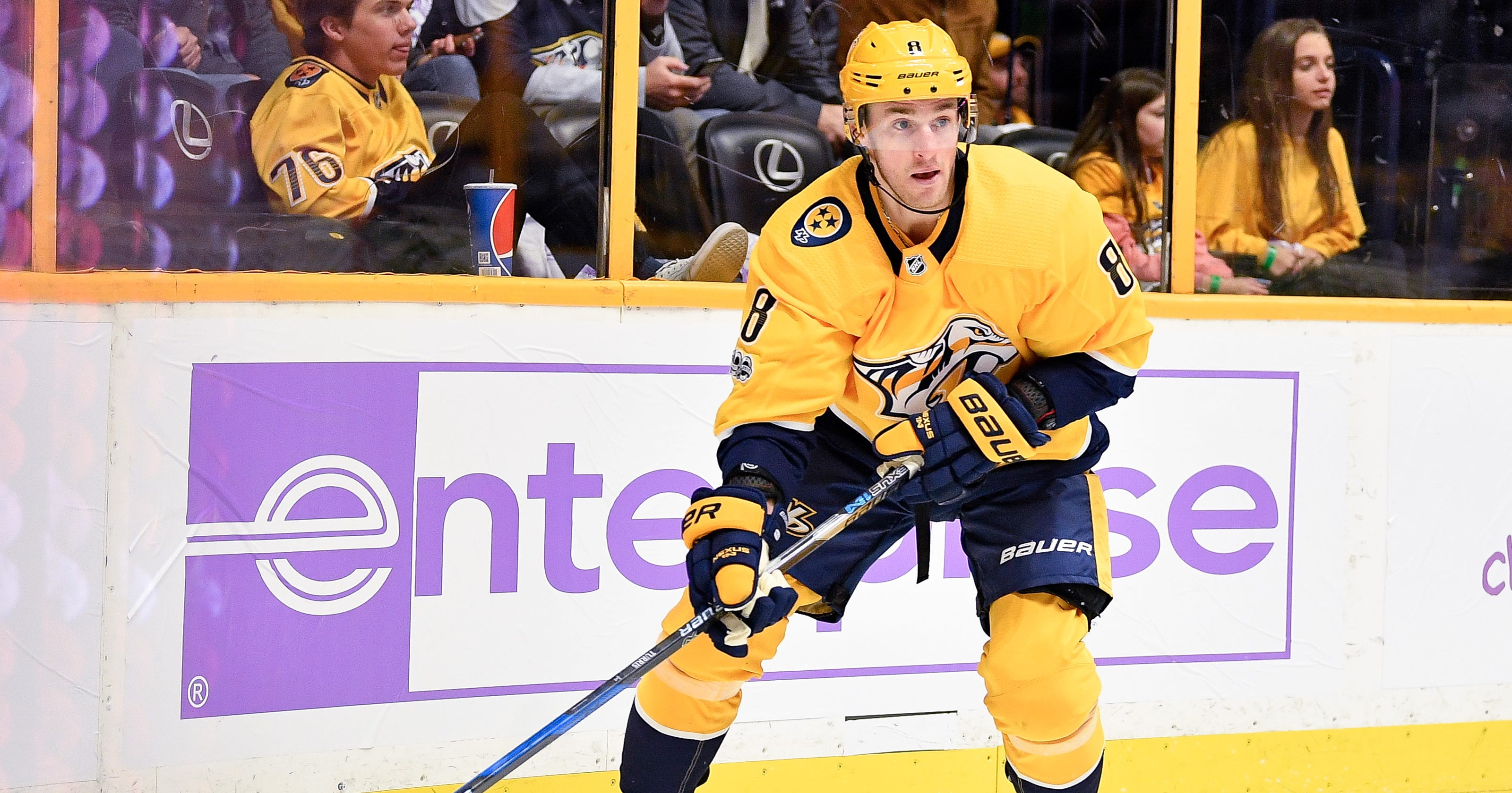 Predators  Kyle Turris settling in after  whirlwind  trade experience 8640889556f1