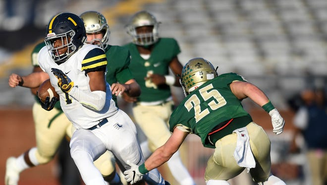 Eric Gray scored five touchdowns to lead Lausanne to its second straight state title Saturday.
