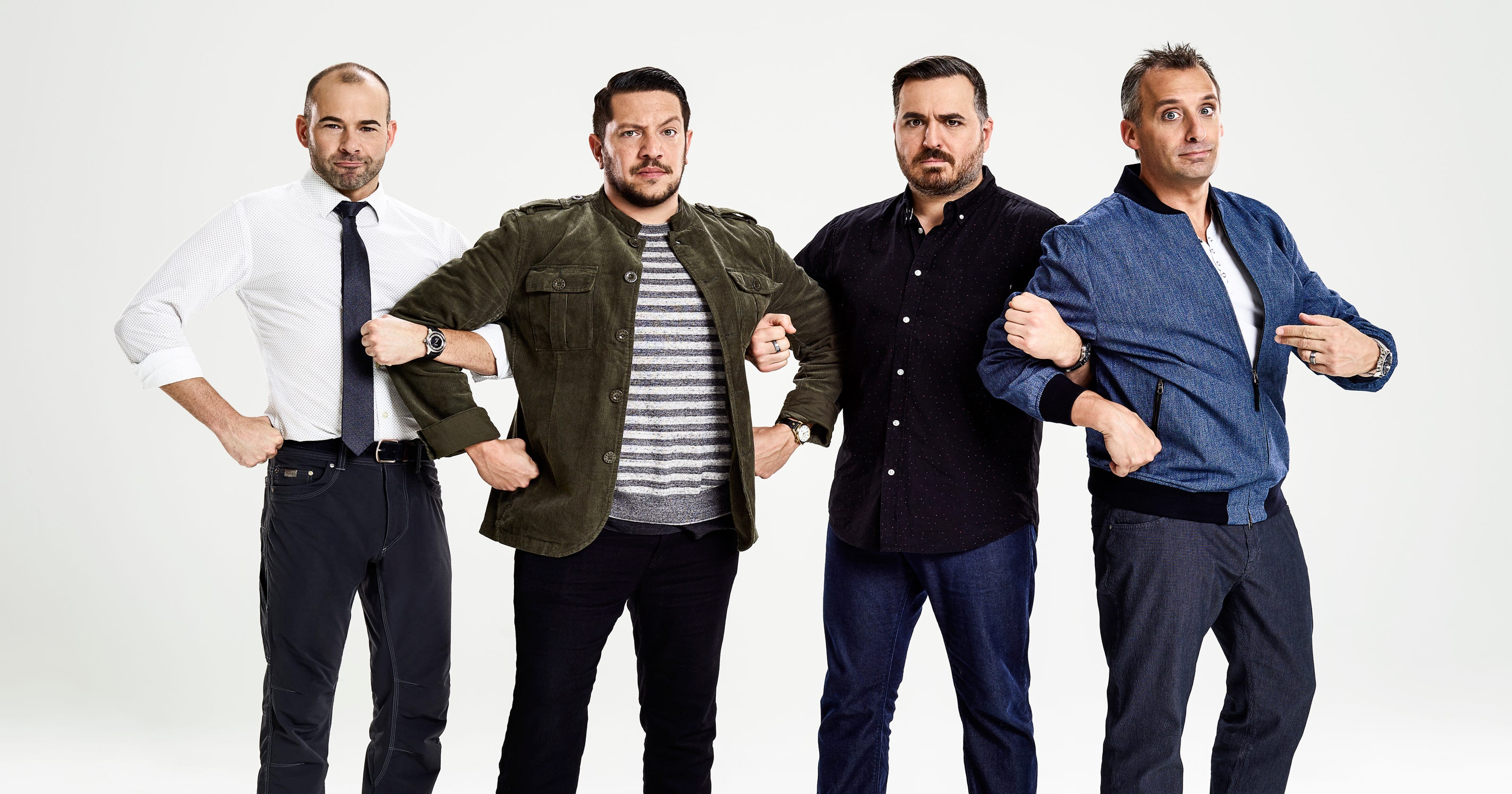 No joke impractical jokers brings their show to the king center m4hsunfo