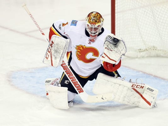 USP NHL: CALGARY FLAMES AT WINNIPEG JETS S HKN WPG CGY CAN MA