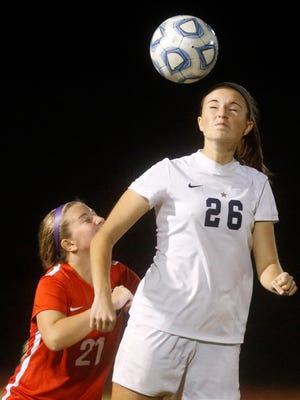 Siegel's Janie Hopper (26) was recently named to the TSWA Class AAA All-State Soccer Team.