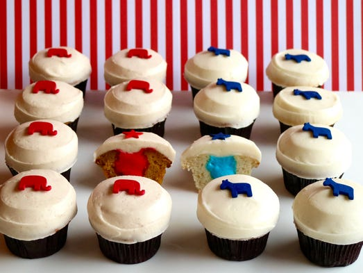 Sprinkles is offering Trumpkin and Vanillary cupcakes