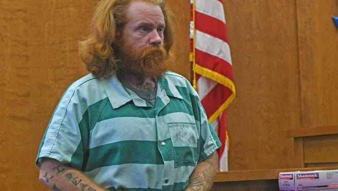 Christopher Vandenberg appeared for sentencing Wednesday afternoon in front of Judge Brent Robinson for injuring four puppies, cutting the throats of three and breaking the leg of the fourth. Vandenberg was sentenced to 40 months for his crimes. All the puppies were treated and are doing fine.