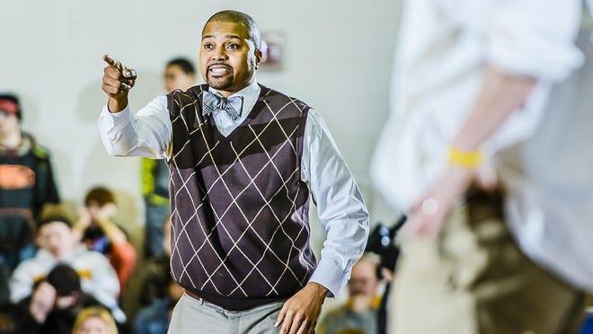 Everett Boys Basketball Head Coach Desmond Ferguson.