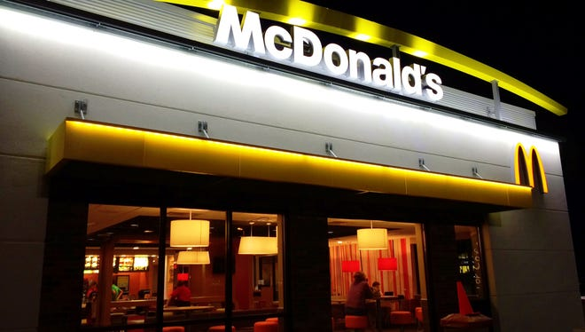 McDonald's has completed its renovations at the East Town Mall location.